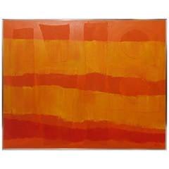 Italo Valenti Mixed-Media Painting