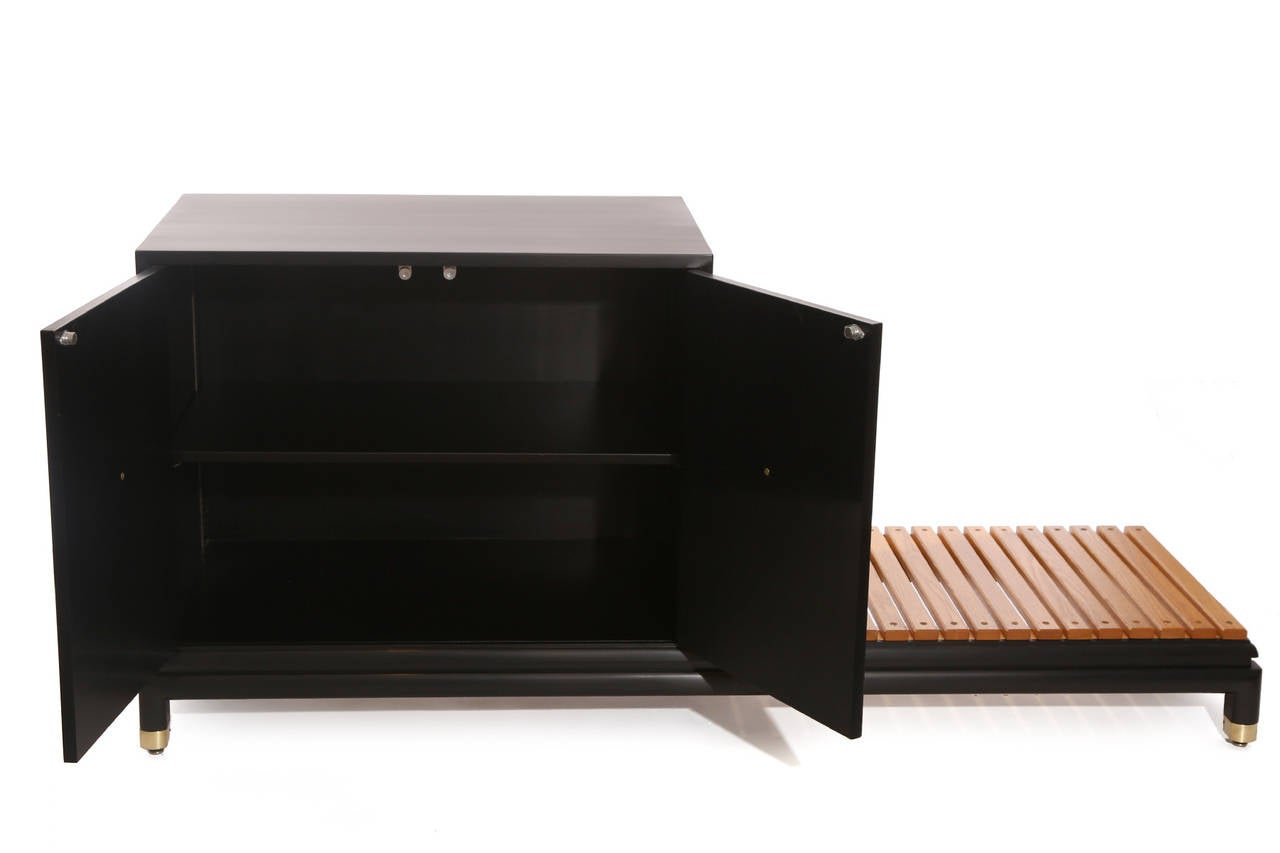 Mid-Century Modern Renzo Rutili for Johnson Chest with Bench For Sale