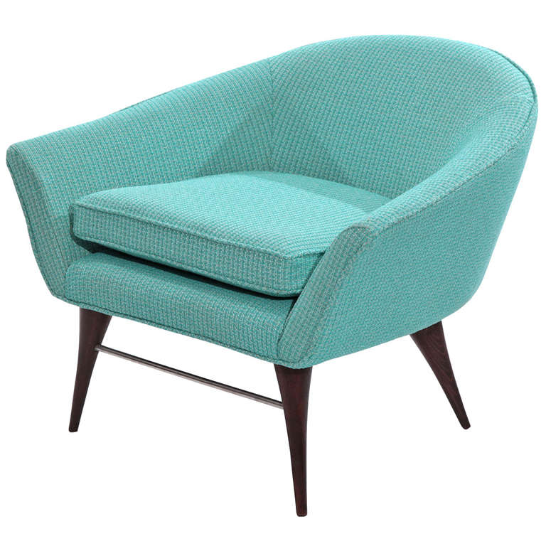 Sculptural Tub Chair by Karpen For Sale at 1stdibs