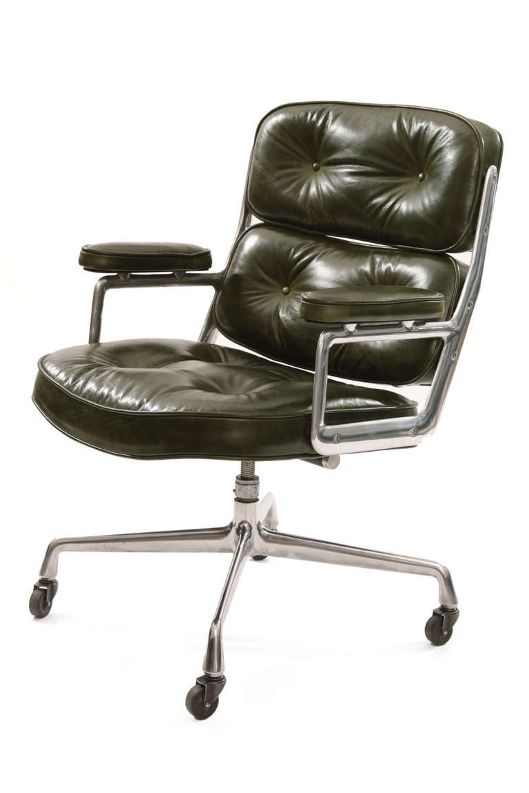 stunning eames for herman miller leather time life chair