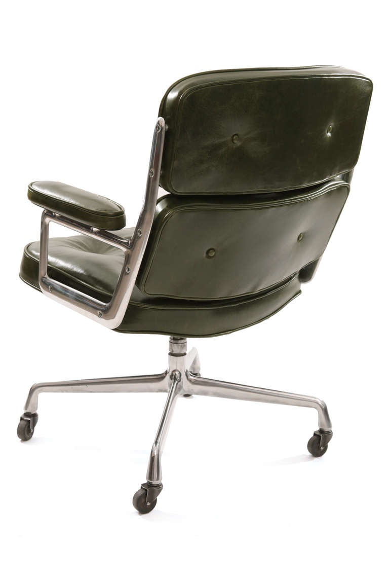 this stunning eames for herman miller leather time life chair is no