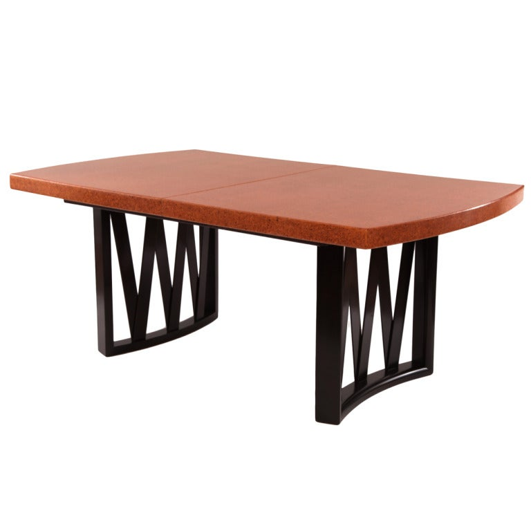 Stunning Paul Frankl Cork and Mahogany Dining Table at 1stdibs : XXXIMG2871 from www.1stdibs.com size 768 x 768 jpeg 32kB