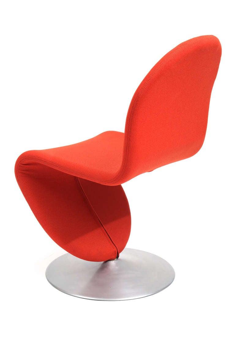 set of 8 verner panton fritz hansen 123 chairs at 1stdibs. Black Bedroom Furniture Sets. Home Design Ideas