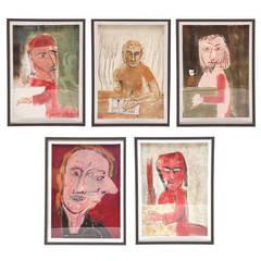 Five Works of Art by Antonio Alvarez