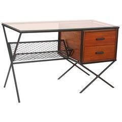 Muriel Coleman for Vista Iron & Walnut Desk