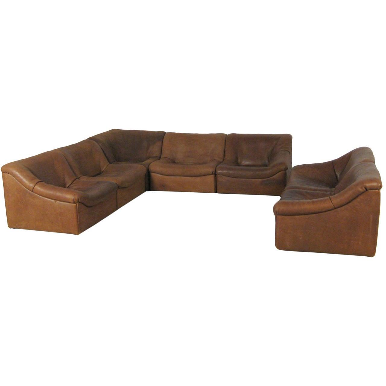 7 Section Buffalo Leather Desede Sofa 1