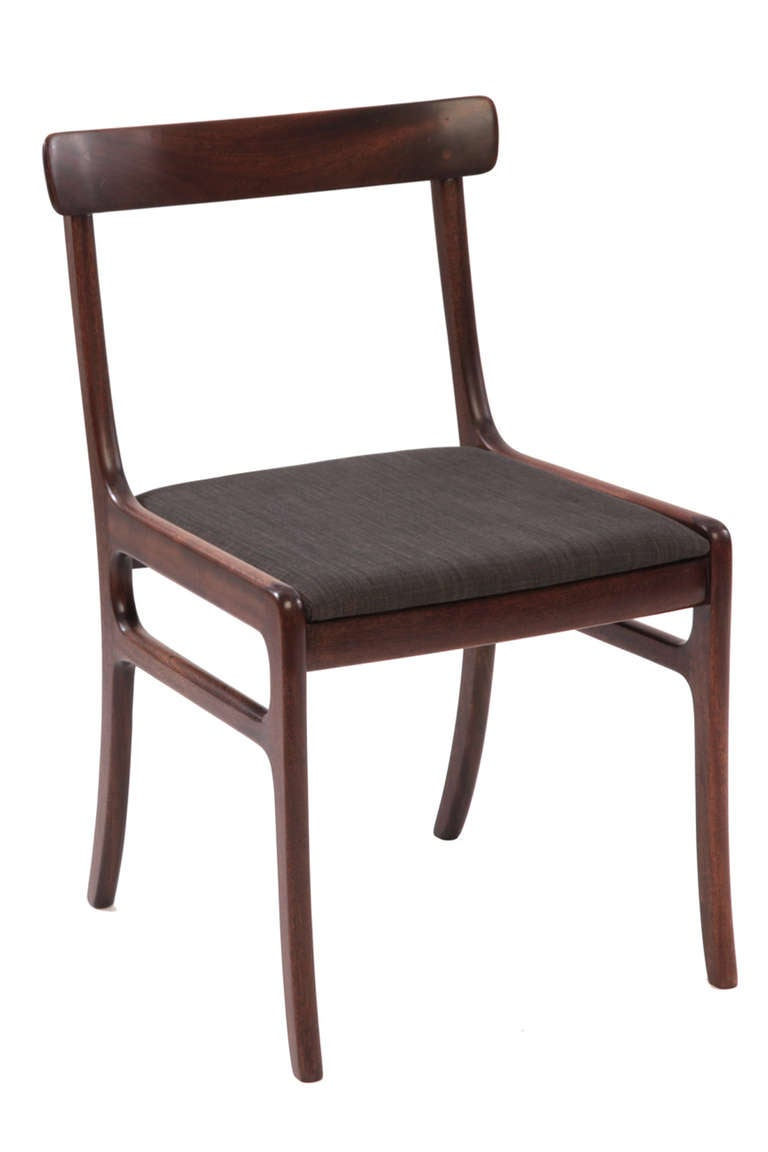 Ole Wanscher Mahogany Dining Chairs For Sale At 1stdibs