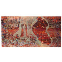 Monumental Steven Sles Painting #1
