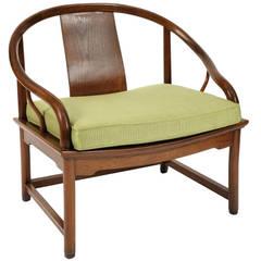 Elegant 1950s Far East Lounge Chair by Baker