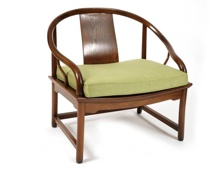 elegant 1950s far east lounge chair by baker at 1stdibs