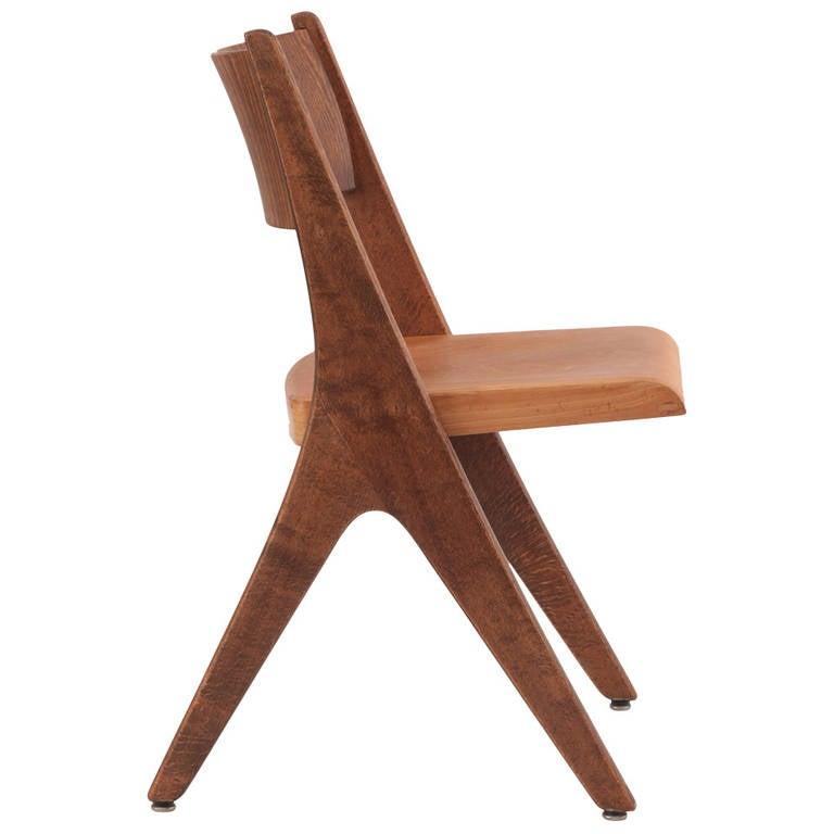 29 Sculptural Beechwood Chairs By Casala 1