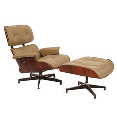 Custom Ordered Eames 670 Lounge Chair and Ottoman