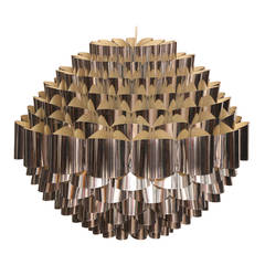 Large-Scale Woven Danish Chandelier