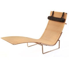 Chaise Longue by Poul Kjærholm for Fritz Hansen