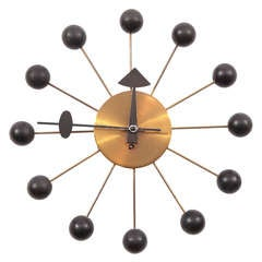 Early George Nelson Howard Miller Ball Clock