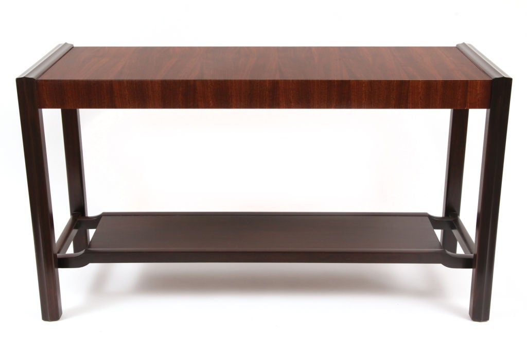 Mahogany Tiered Sofa Table At 1stdibs