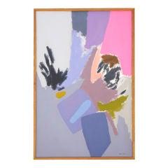 Jackie Carson Abstract Acrylic on Canvas