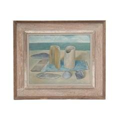 Seaside Still Life Oil Painting by Wynn Chamberlain