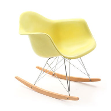 Charles and Ray Eames for Herman Miller Rar rocking chair circa 1958 ...