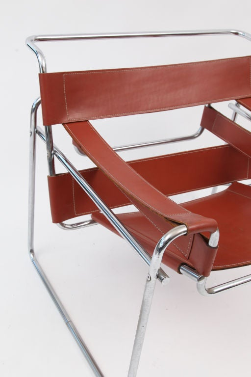 Pair Of Marcel Breuer Knoll Wassily Chairs At 1stdibs