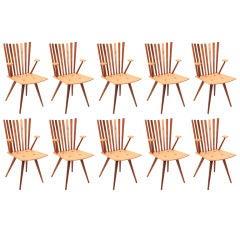 Ten Foersom and Lorenzen Mikado Dining Chairs