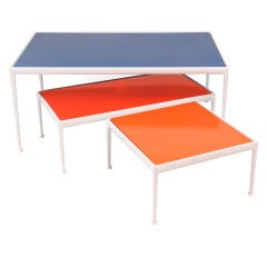 3 Richard Schultz Aluminum & Steel Tables