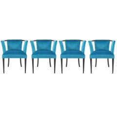 4 Eliel Saarinen Occasional Chairs