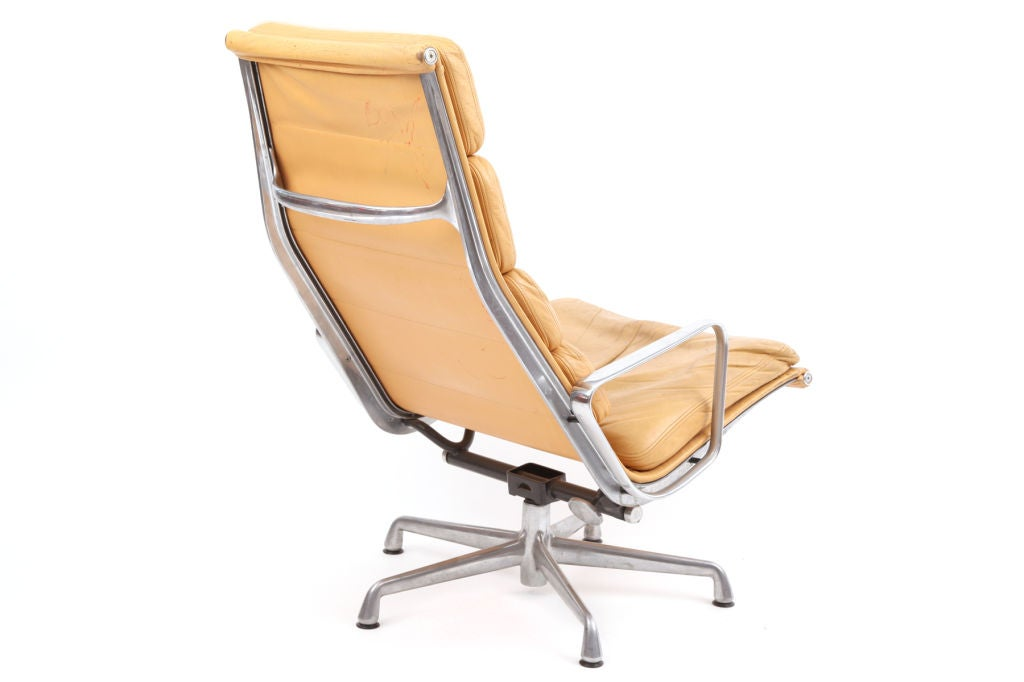 Eames Herman Miller Soft Pad Lounge Chair And Ottoman At 1stdibs