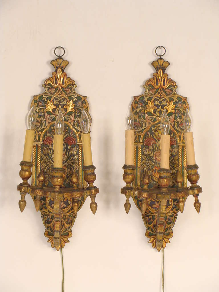 Moroccan Glass Wall Lights : Moroccan Wall Sconces For Sale at 1stdibs