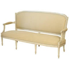 Louis XVI Style Painted Settee