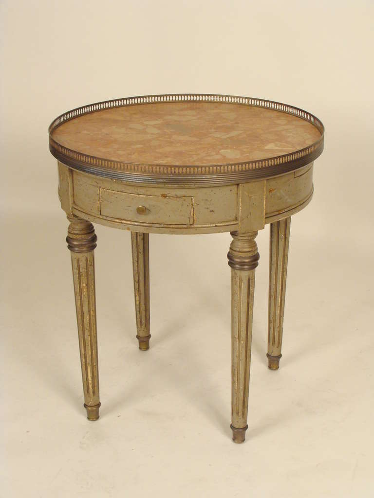 louis xvi style bouillotte table for sale at 1stdibs. Black Bedroom Furniture Sets. Home Design Ideas