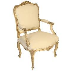 19th Century Louis XV Armchair