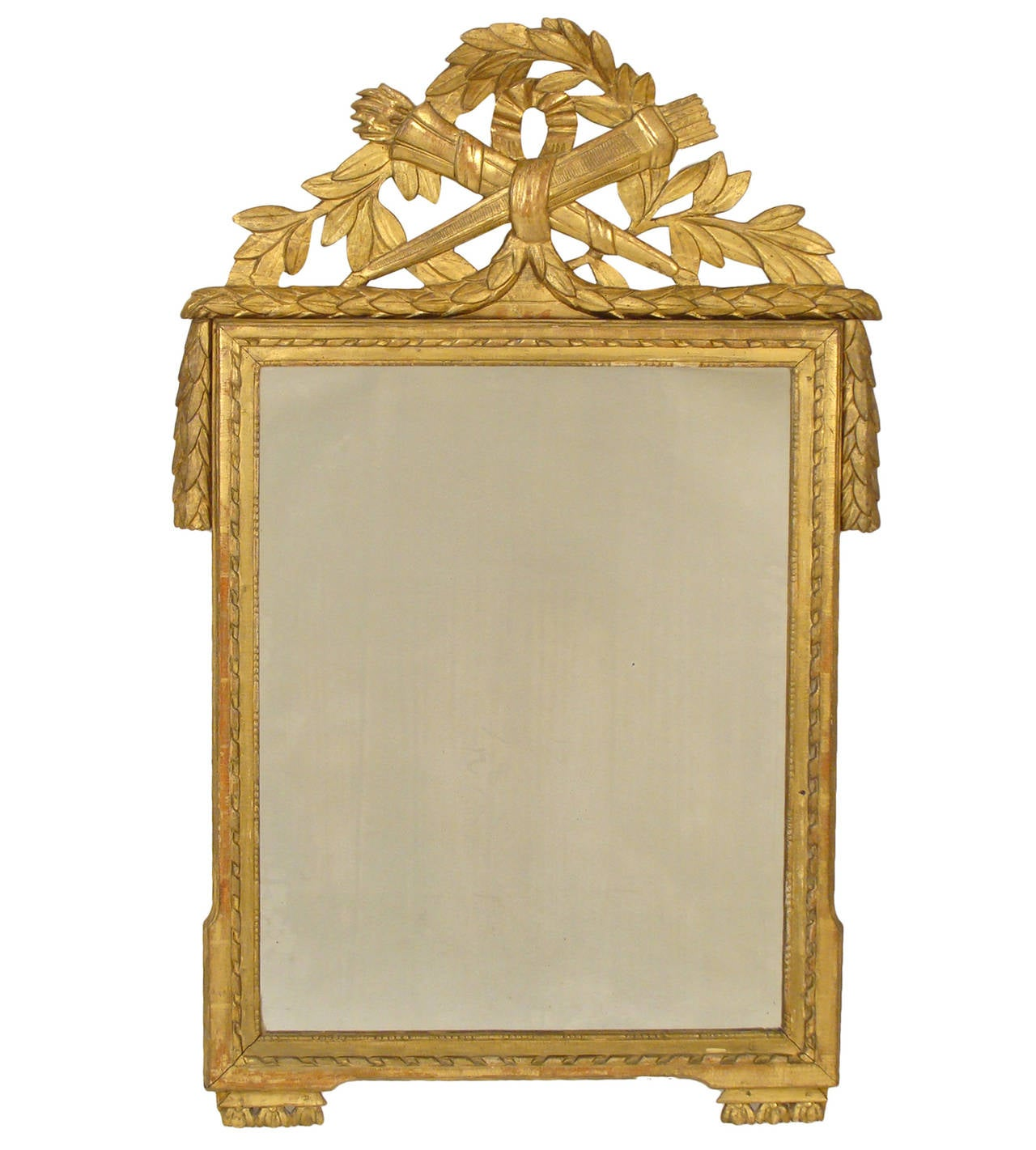 louis xvi style mirror at 1stdibs