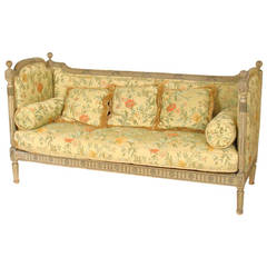 Louis XVI Style Painted Sofa