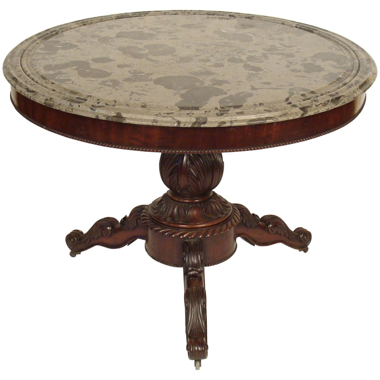 Louis philippe center table for sale at 1stdibs for Table louis philippe