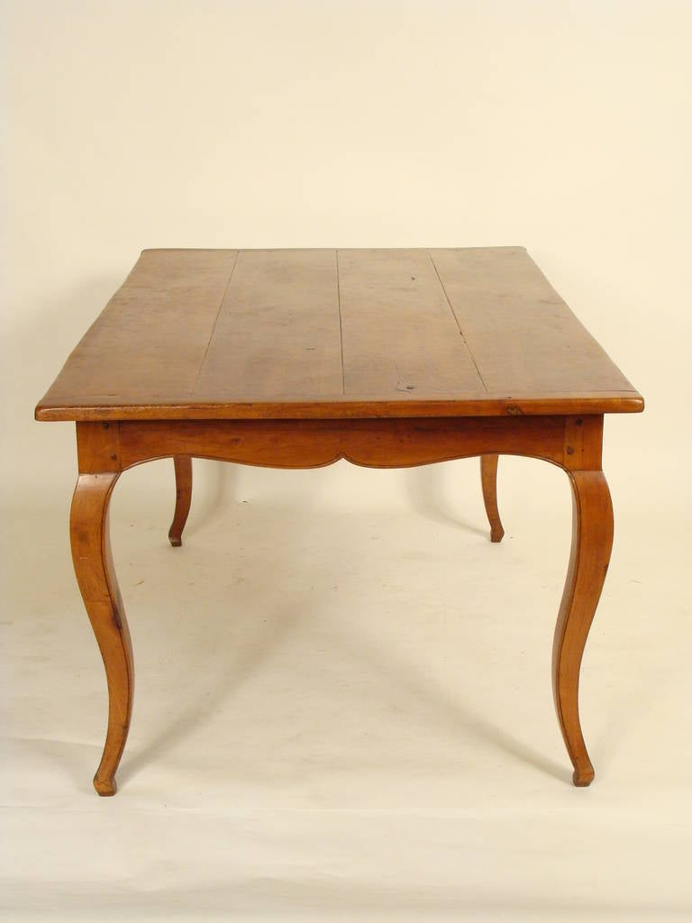 Louis xv provincial dining table circa 1960s at 1stdibs - Table louis xv ...