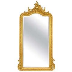 Palatial Louis XV style mirror