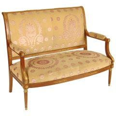 Empire Style Settee