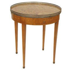 Louis XVI Style Bouillotte Table