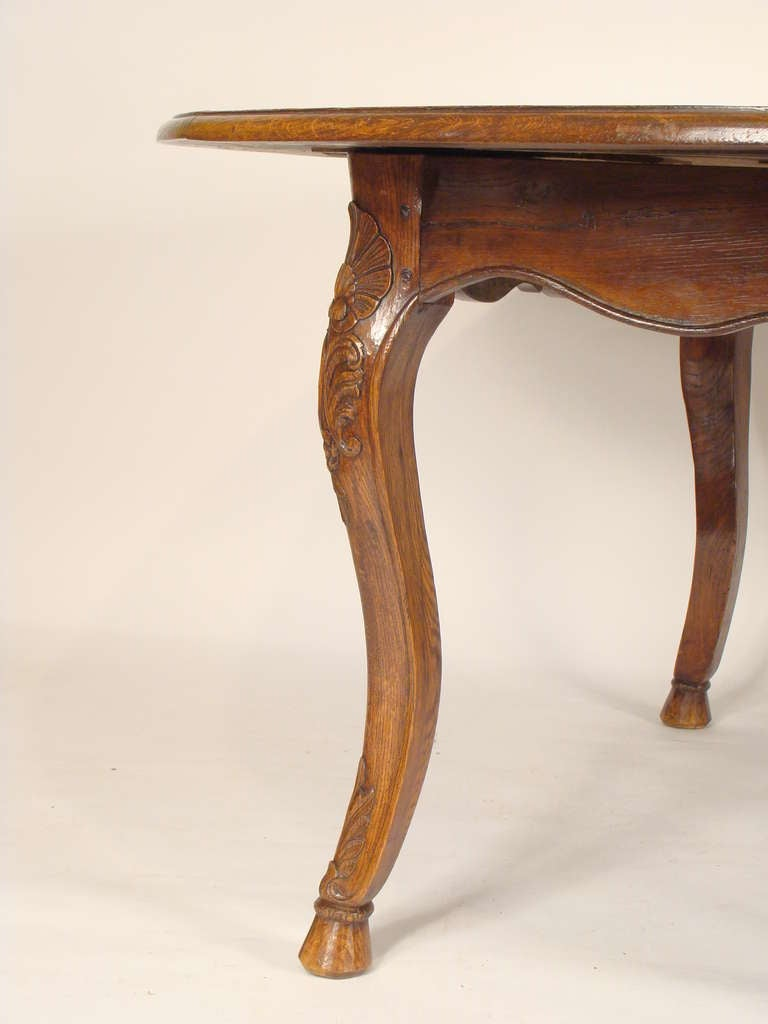 Louis xv provincial dining table at 1stdibs - Table louis xv ...