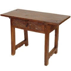 Baroque occasional table