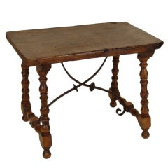 Spanish style occasional table.