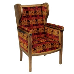 19th Century Bergere with Adjustable Back