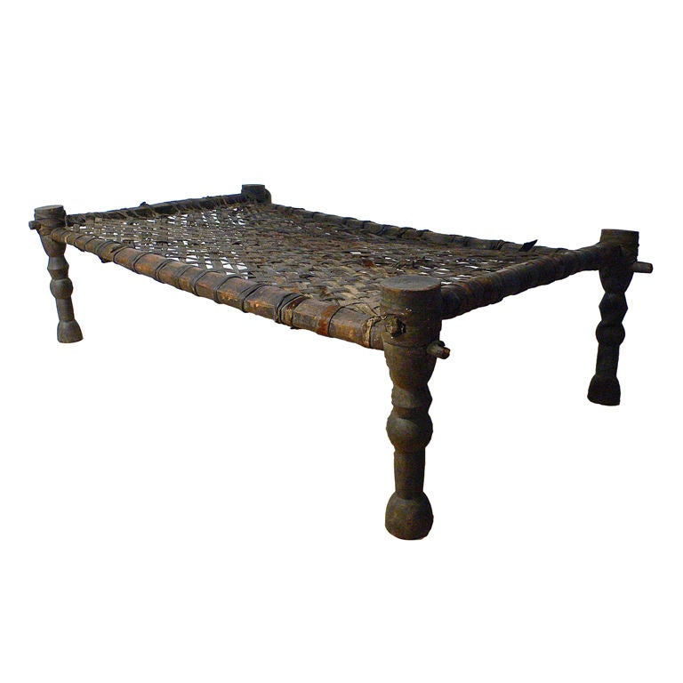 Rare African Wedding Bed