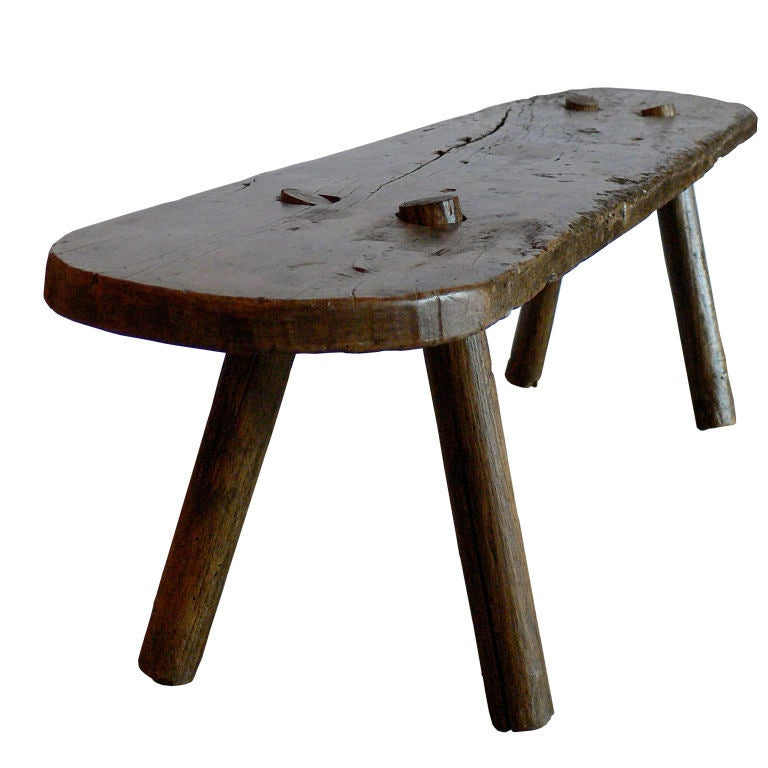 Primitive Bench or Side Table at 1stdibs : 853713001467721 from www.1stdibs.com size 768 x 768 jpeg 47kB