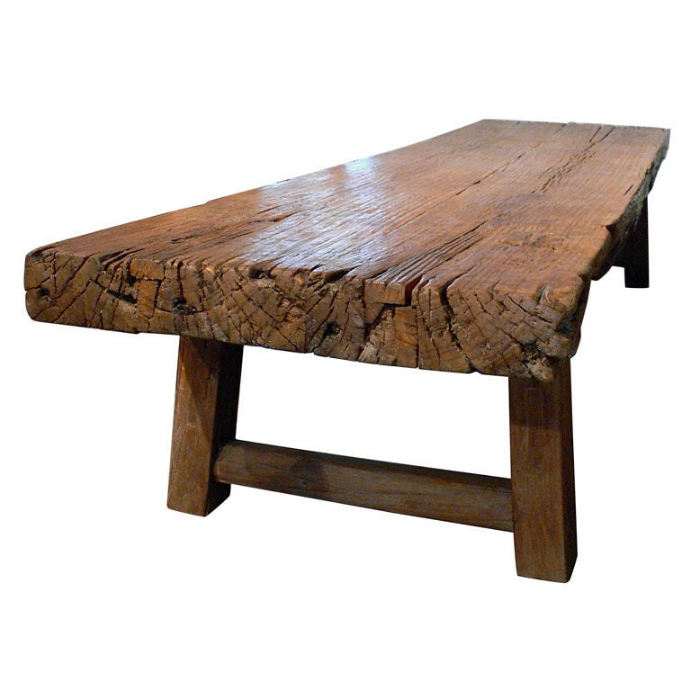 Rustic coffee table at 1stdibs Unique rustic coffee tables