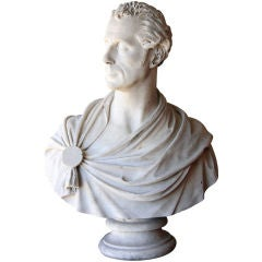 Marble Bust of Man