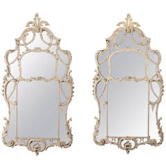 Superb Pair of George II Mirrors in the Manner of John Linnell