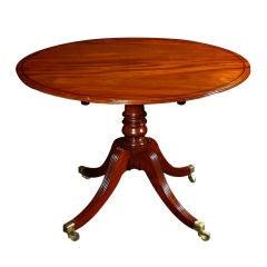 George III Mahogany Breakfast Table