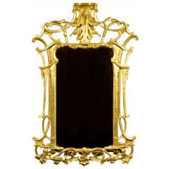 Irish George III Giltwood Mirror